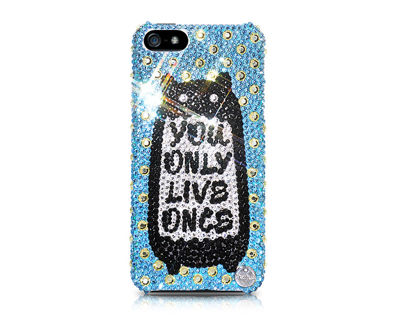 Neighbor Totoro Bling Swarovski Crystal Phone Cases