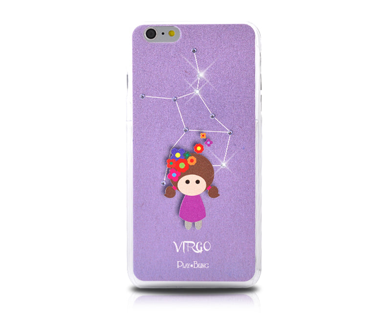 12 Constellation Bling Swarovski Crystal Phone Cases - Virgo