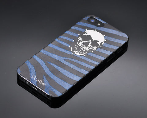 Masculine Bling Swarovski Crystal Phone Cases - Blue