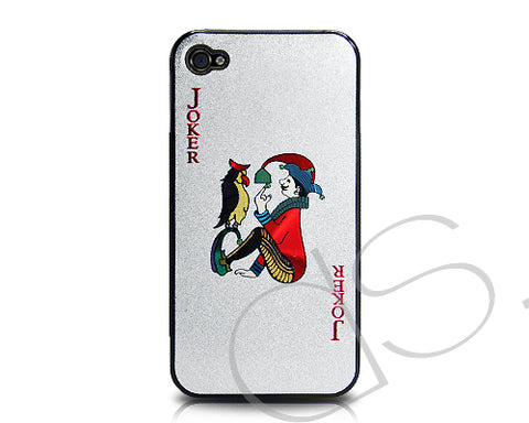 Poker Series iPhone 4 and 4S Case - Black Joker