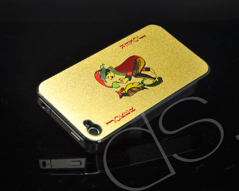 Poker Series iPhone 4 and 4S Case - Red Joker