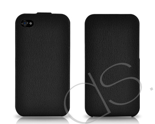 Simplism Series iPhone 4 and 4S Flip Case - Black
