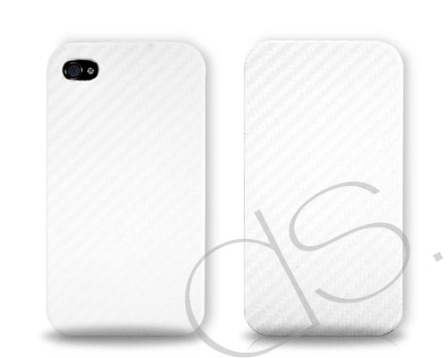 Twill Series iPhone 4 and 4S Flip Case - White