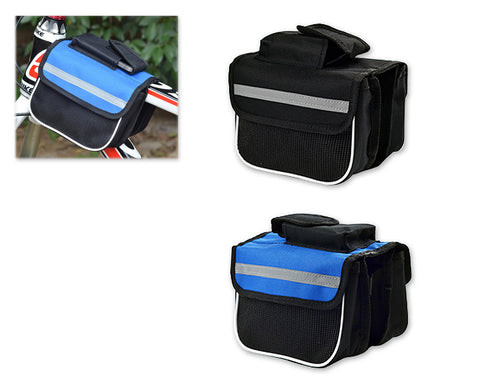 Bike Cycling Frame Pannier Rack Tube Bag Beam Package