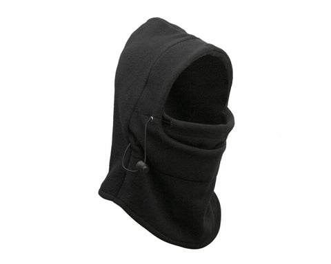 4 in 1 Winter Warmer Snood Fleece Mens Scarf Neck Face Mask