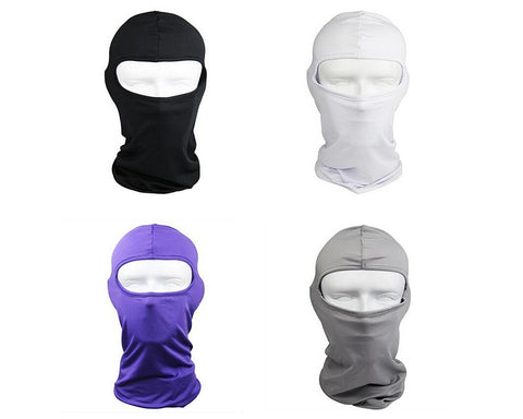 Motorcycle Cycling UV Protection Iycra Balaclava Full Face Mask