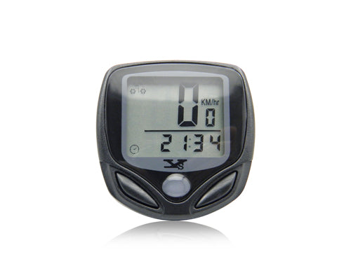 Cycling Bike Waterproof Wireless LCD Computer Speed Odometer