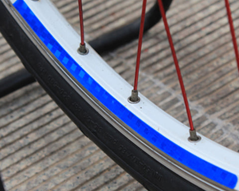Cycling Bicycle MTB Bike Wheel Rim Reflective Sticker