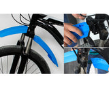 Mountain Bike Fenders with LED Light Adjustable Front and Rear Mudguard