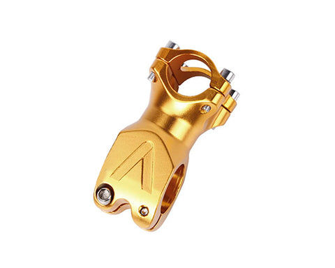 60mm Alloy Fixie MTB Single Speed Bike Handlebar Stem - Gold