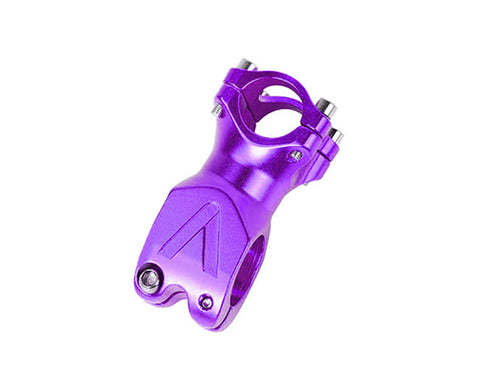 60mm Alloy Fixie MTB Single Speed Bike Handlebar Stem  - Purple