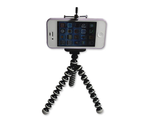 Portable Flexible Compact Camera Mini Tripod