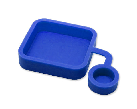 GoPro Soft Silicone Lens Cover Cap for Hero 3+ Camera Housing - Blue