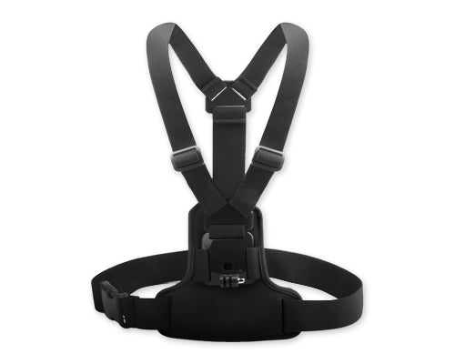 GoPro Adjustable Elastic Chest Mount Harness for Hero Camera - Black