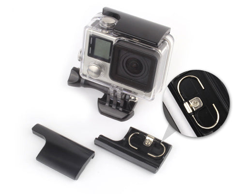 GoPro Replacement Rear Snap Latch Housing Lock for Hero 3+/4 - Black