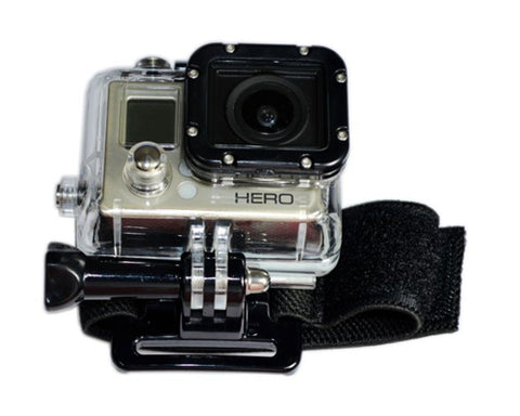GoPro Wrist Strap Mount and 360 Degree Rotating Buckle for Hero Camera