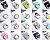 iRing Universal Bunker Ring Grip Holder Cell Phone Stand - Houndstooth