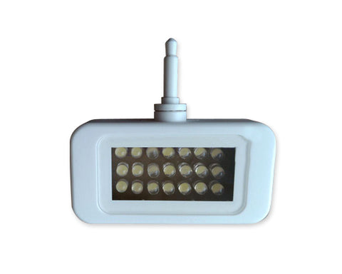 Portable Mini 21 LED Video Light for Smartphone and Tablets - White
