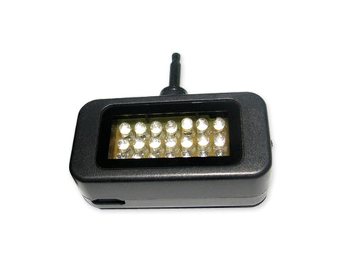 Portable Mini 21 LED Video Light for Smartphone and Tablets - Black