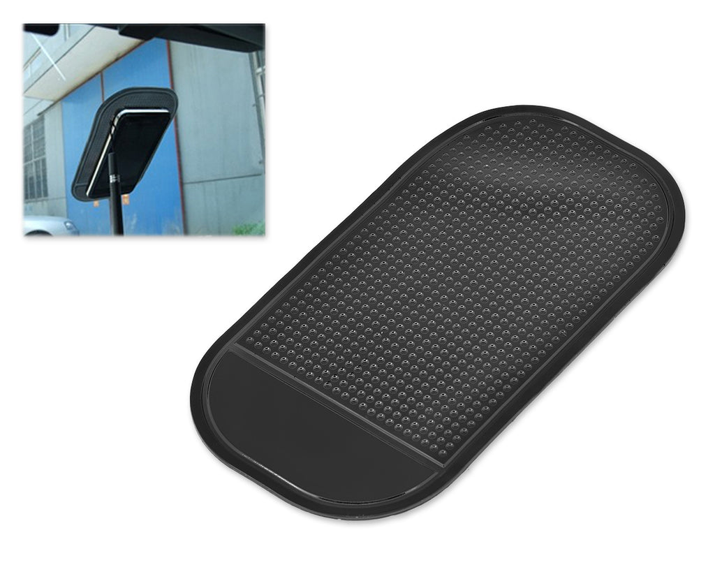 Non-slip Car Dashboard Sticky Pad for Mobile Phones and GPS - Black