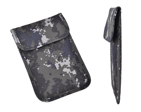 Army Camouflage Anti-Radiation/Signal Blocking Case for Smartphone - D