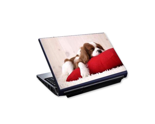 Laptop Colorful Vinyl Skin Sticker - Dog