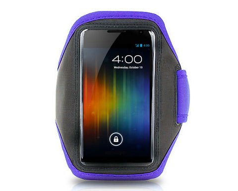 Running Armband for 5-inch Smartphone - Purple