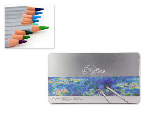 Set of 72 Art Colored Drawing Pencils Gift Box