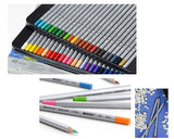 Set of 36 Art Colored Drawing Pencils Gift Box