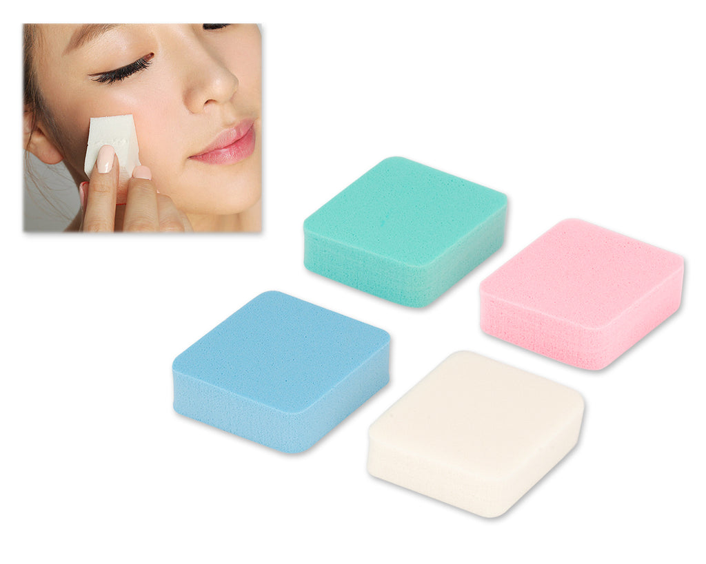 4 Pcs Diamond-shaped Makeup Sponge Puff