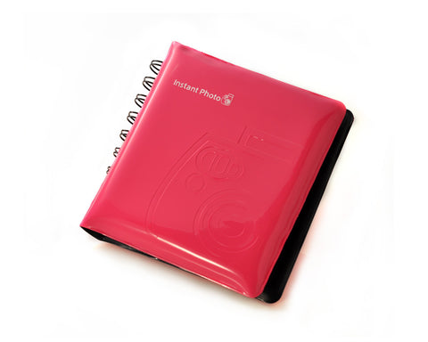 Jelly Mini Photo Album for Fujifilm Instax Mini 210 Films - Magenta