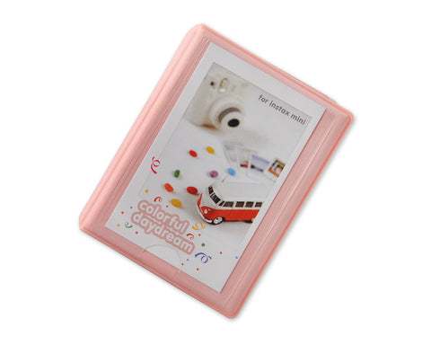 Small Colorful Photo Album for Fujifilm Instax Mini Films - Pink