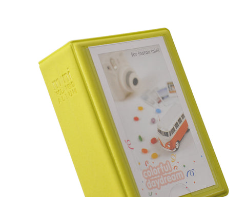 Small Colorful Photo Album for Fujifilm Instax Mini Films - Yellow