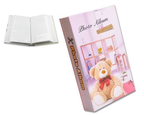 Bear Photo Album for Fujifilm Instax Wide 210/ 200/ 300 Films - Pink