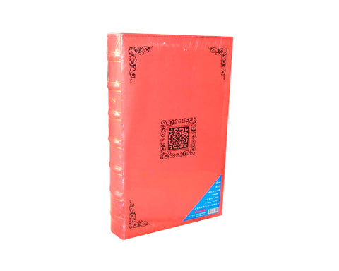 "PU Leather Photo Album for Kodak Photos 3.5x5"" - Orange"