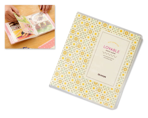 Lovable Card Holder Photo Album for Fujifilm Instax Mini Film - Square