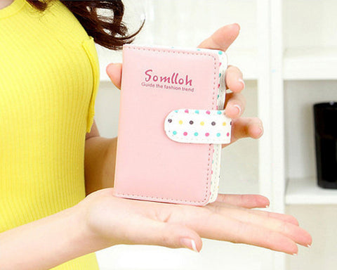 Cute Card Holder Photo Album for Fujifilm Instax Mini Films - Yellow