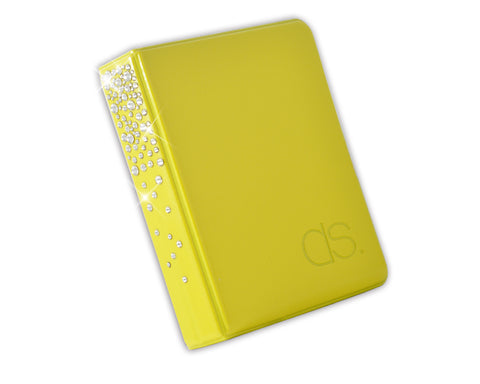 Swarovski Crystal Photo Album for Fujifilm Instax Mini Films - Yellow