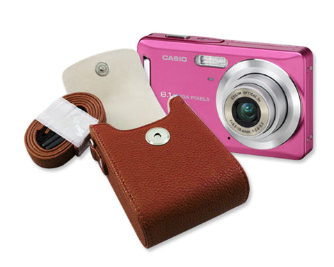Compact One Digital Camera Case - Brown