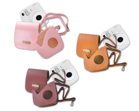 Retro Leather Case for Fujifilm Instax mini 7S
