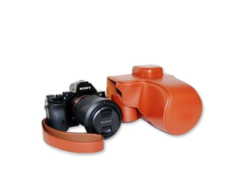 Retro Sony Alpha a7 Camera Leather Case
