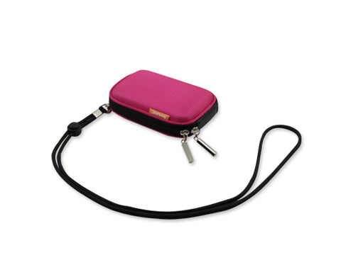 Zipper Samsung ST200F Camera Case - Magenta