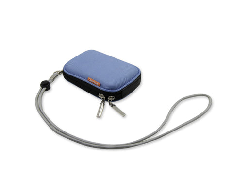 Zipper Samsung ST200F Camera Case - Blue