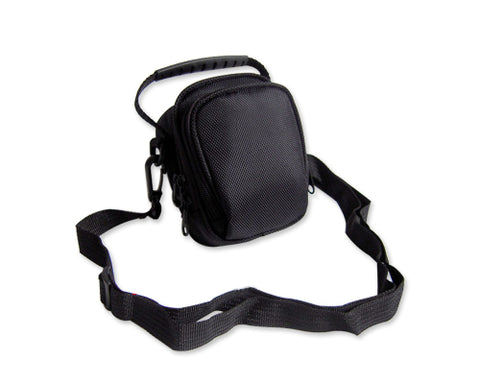 Simple Nylon Shoulder Bag - Black