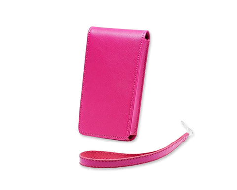 Retro Casio EX-TR Leather Case - Magenta