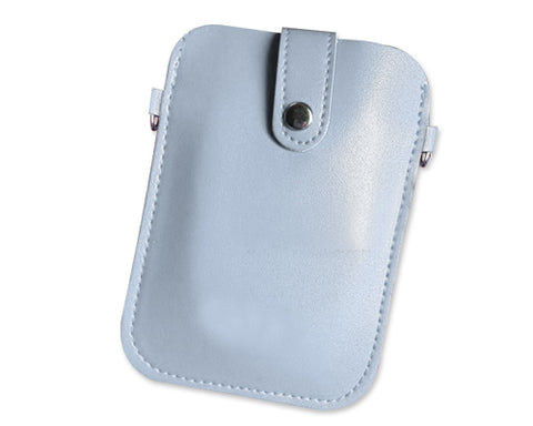 Retro Casio EX-TR Camera Pouch Case - Ice Blue