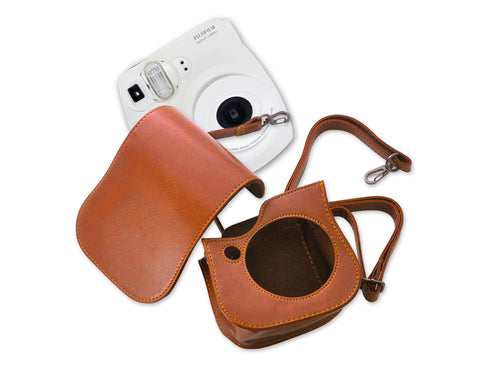 Retro Leather Case for Fujifilm Instax Mini 25
