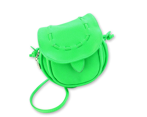 Lovely Leather Shoulder Case for Fujifilm Instax Mini Camera - Green