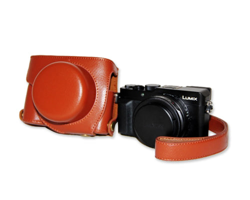 Retro Panasonic Lumix DMC-LX100 Camera Leather Case