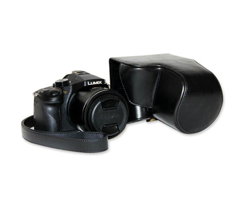 Retro Panasonic Lumix DMC-FZ1000 Camera Leather Case